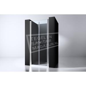 Best Design Erico 90 cm Douchedeur Nis Pendeldeuren 6 mm Muurprofiel NANO