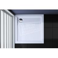 Best Design Dona 80x80x4 cm Lage Douchebak Vierkant Wit Acryl