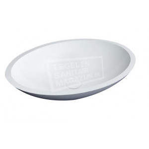 Best Design Just Solid Waskom 52x38x14 cm Wit Glans Solid Surface