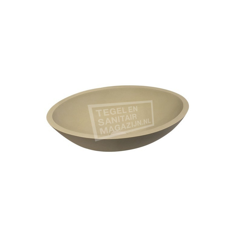 Best Design Solid Waskom 52x38x14 cm Sandstone Solid Surface