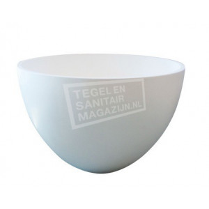 Best Design Just Solid Waskom 42x26 cm Wit Mat Solid Surface