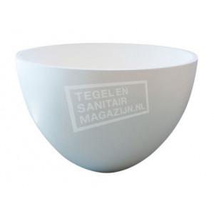 Best Design Just Solid Waskom 48x30 cm Wit Glans Solid Surface