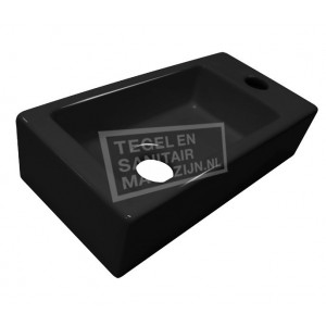 Best Design keramische Fontein Mini-block Zwart 37x18x9cm