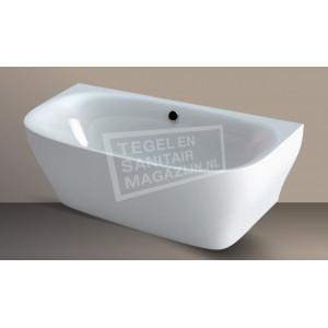 Vrijstaand Beterbad/Xenz Daan (180x80x60cm) Duobad 195L Acryl Wit