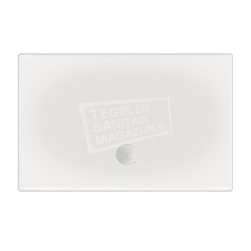 Beterbad Flat (180x90x3,5 cm) douchebak Rechthoek Wit