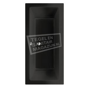 Beterbad/Xenz Society (180x80x50cm) Duobad inbouw 290L Ebony mat