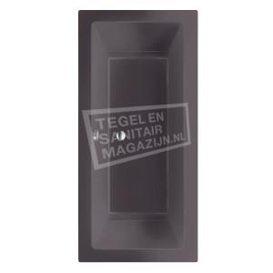 Beterbad/Xenz Society (190x90x50cm) Duobad inbouw 360L Antraciet mat