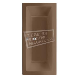Beterbad/Xenz Society (190x90x50cm) Duobad inbouw 360L Klei mat