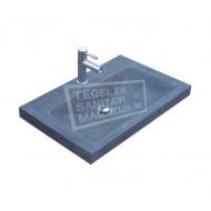 Sanilux Natuurstenen Wastafel 60 cm