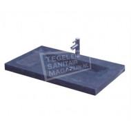 Sanilux Natuurstenen Wastafel 80 cm