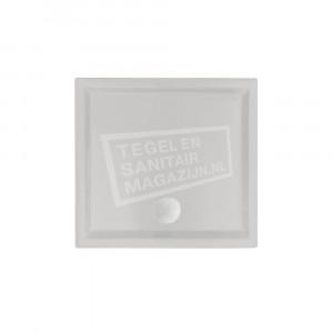 Beterbad/Xenz Mariana (90x90x4 cm) douchebak Vierkant Cement mat