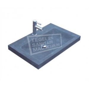 Sanilux Natuurstenen Wastafel Compact 60 cm