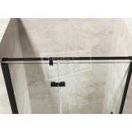 Gradara Black Edition Mover draaideur met vast paneel (80x200 cm) 8 mm NANO