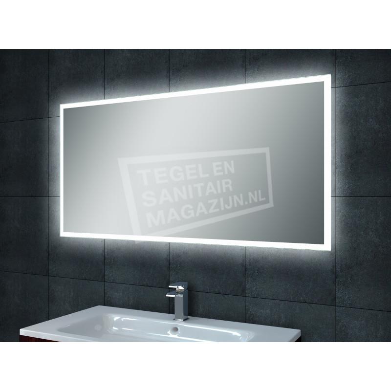 Mueller Quatro condensvrije LED spiegel 120x60cm