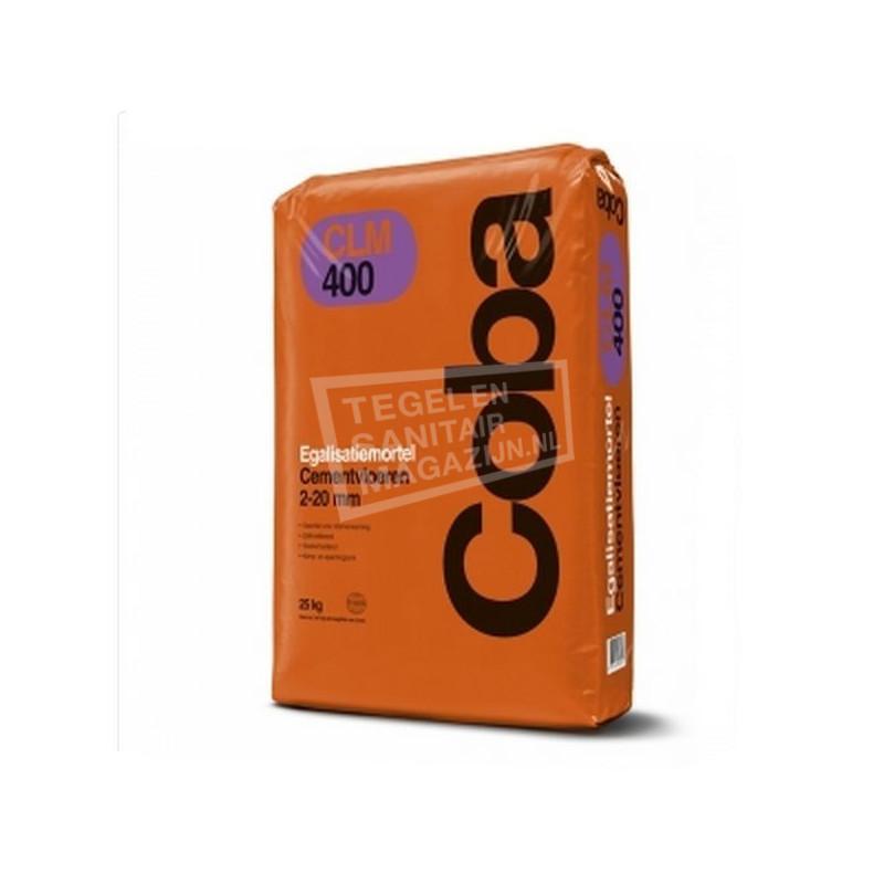 Coba CLM 400 Egalisatiemortel Cementvloeren 25 kg