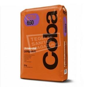 Coba CTM 650 Uitvlakmortel Lichtgewicht 25 kg