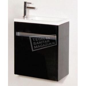 Toiletmeubel Futoire Zwart