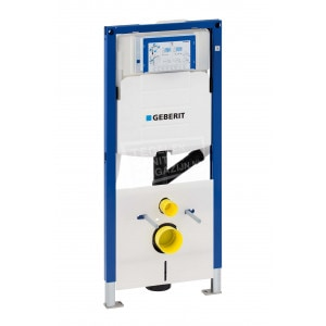 Inbouwreservoir Geberit Duofresh UP320 (50x112x12) voorbereid op geurafzuiging op koolstoffilter