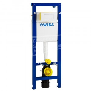 Wisa XT 112 cm (112x38x14) Frontbediening Inbouwreservoir