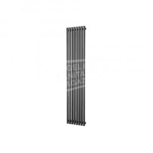 Plieger Inox Melody verticale radiator (370x1800) 861 Watt Inox
