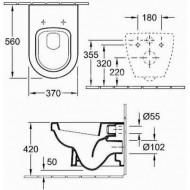 Villeroy & Boch Omnia Architectura - Diepspoel (37x42x56)