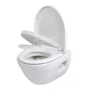 Plieger Edge Wandcloset PACK Wit (incl. softclose toiletzitting) (36x40x55)