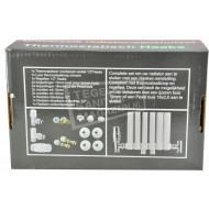 Luxe radiator aansluitset haaks
