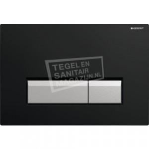 Geberit Sigma 40 bedieningsplaat voor UP320 Zwart
