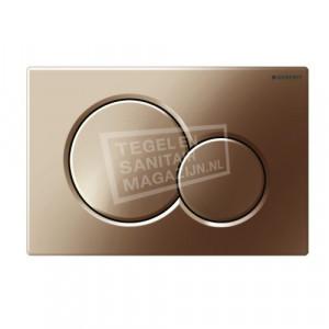 Geberit Sigma 01 bedieningsplaat voor UP300, UP320, UP700 & UP 720 Edelmessing