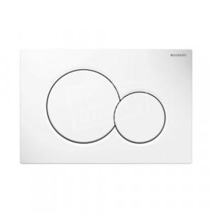 Geberit Sigma 01 bedieningsplaat voor UP300, UP320, UP700 & UP 720 Alpine wit