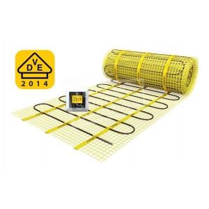 MAGNUM Mat 1,25 m2 elektrische vloerverwarming met klokthermostaat