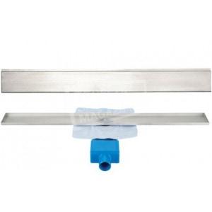 Aqualux Davenport 90 cm zonder flens met designrooster