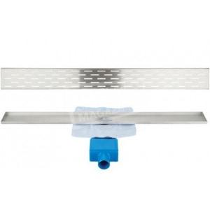 Aqualux Portland 80 cm zonder flens met designrooster
