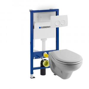 Primo rimless toiletset met...