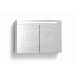 Spiegelkast 100 met verlichting en stopcontact