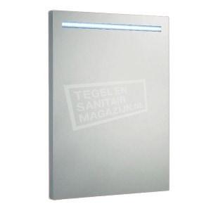 Aluminium spiegel met led verlichting 58 cm