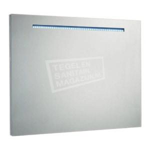 Aluminium spiegel met led verlichting 90 cm