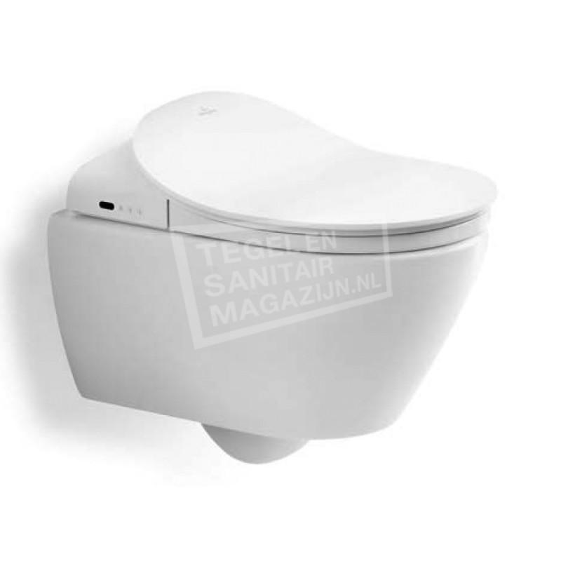 Villeroy & Boch ViClean Subway 2.0 Wandcloset Ceramicplus Direct Flush Met ViClean Closetzitting Wit