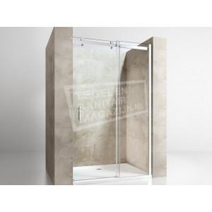 Gradara Clear Move Schuifdeur (150x200 cm) 8 mm Dik Helder Glas