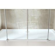 Gradara Twinroller 4-delige Schuifdeur (180x200 cm) 8 mm Dik Helder Glas
