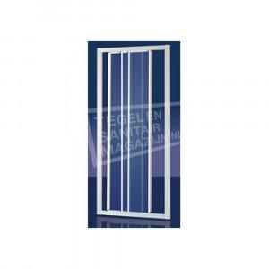 Plieger Economy Schuifdeur (90x185 cm) Wit 2,2 mm Dik Decor Glas