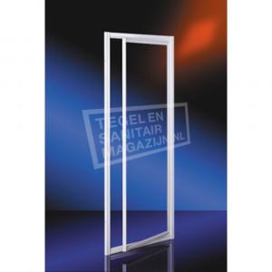 Plieger Class Draaideur (90x185 cm) Aluminium 3 mm Dik Helder Glas