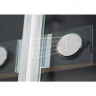 Beuhmer Wide Draaideur (120x200 cm) Chroom 8 mm NANO Anti-kalk
