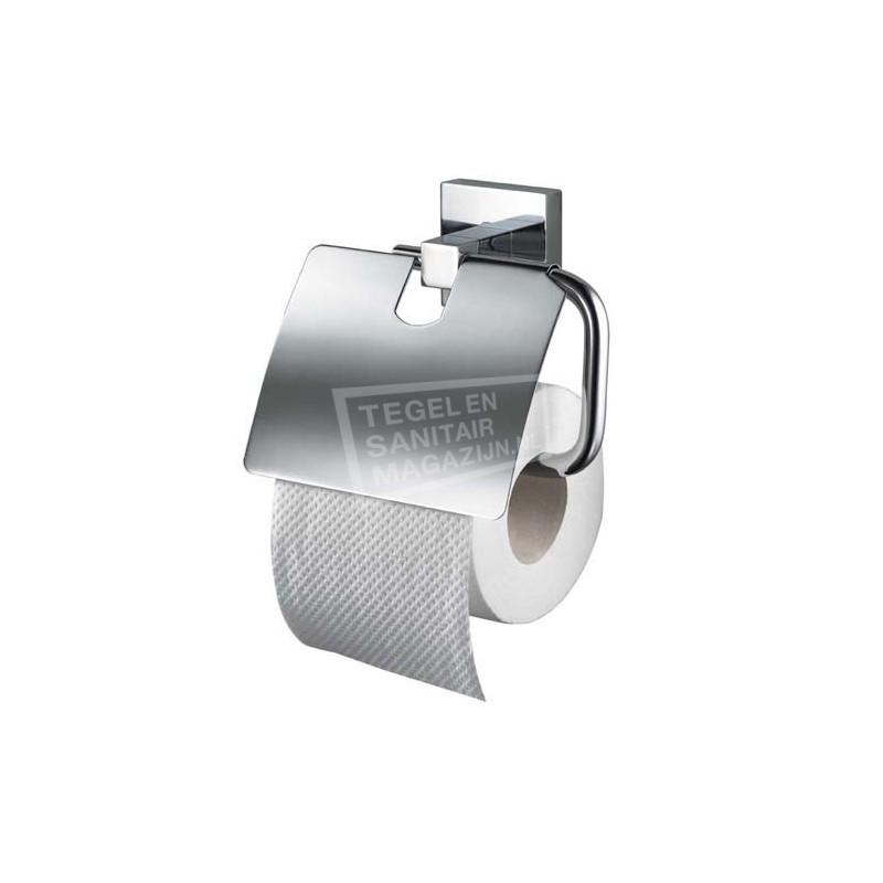 Haceka Mezzo toiletrolhouder met klep