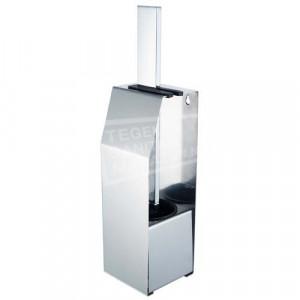 Edge chroom toiletborstel