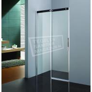 Beuhmer Softclose Schuifdeur (120x200 cm) Chroom 8 mm Dik Helder Glas