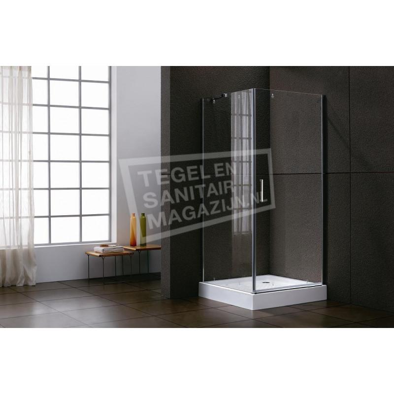 Sanilux Standard (90x90x200 cm) douchecabine vierkant 1 swingdeur 6 mm