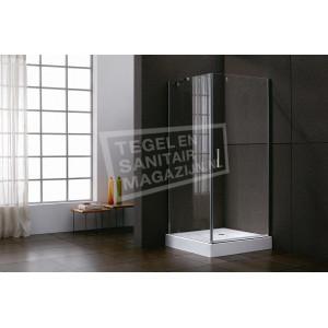 Sanilux Standard (100x100x200 cm) douchecabine vierkant 1 swingdeur 6 mm