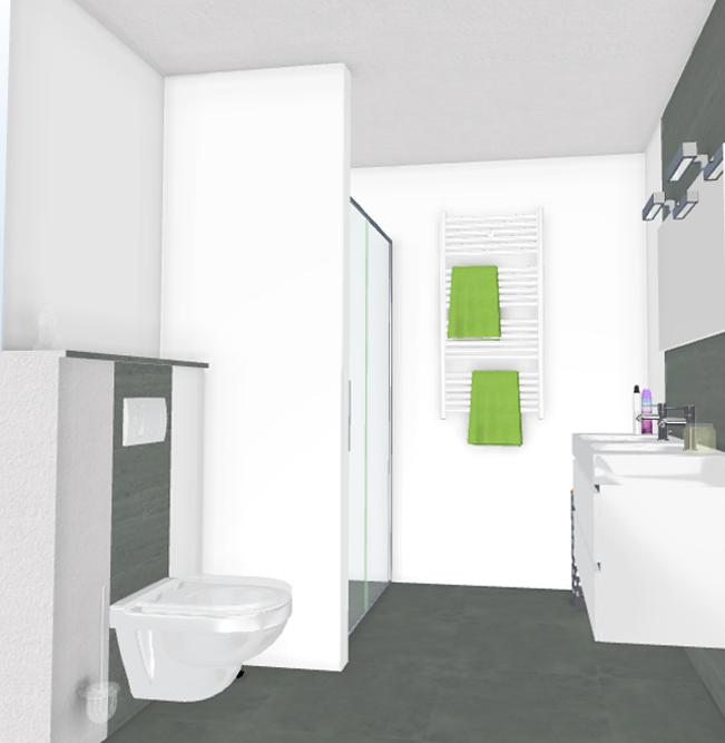 complete luxe badkamer: beton ciré badkamer complete wonen.nl, Badkamer