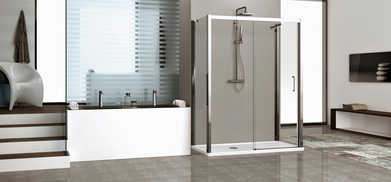 Keuzehulp hoe kies ik een douchecabine of inloopdouche tsm for Moderne doucheruimte